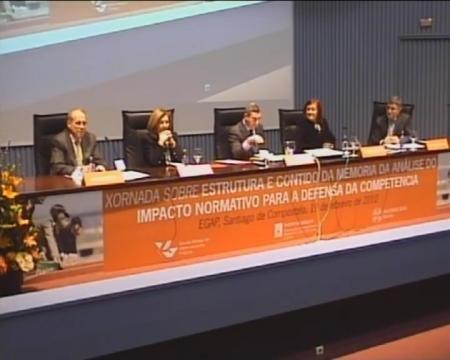 Clausura - Xornada sobre Estructura e Contido da Memoria do Análise do Impacto Normativo para a Defensa da Competencia